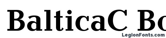 BalticaC Bold Font