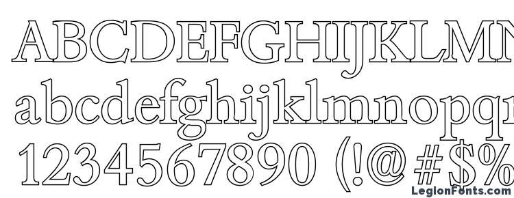 глифы шрифта BambergOutline Regular, символы шрифта BambergOutline Regular, символьная карта шрифта BambergOutline Regular, предварительный просмотр шрифта BambergOutline Regular, алфавит шрифта BambergOutline Regular, шрифт BambergOutline Regular