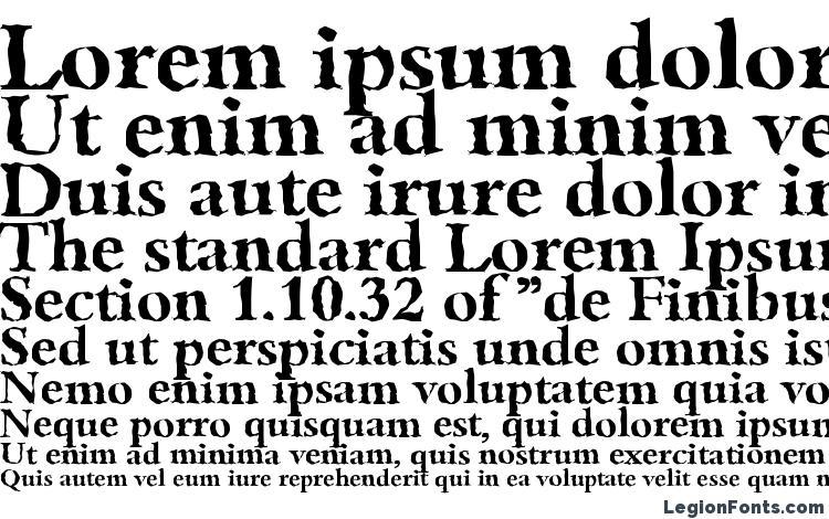specimens BambergRandom Bold font, sample BambergRandom Bold font, an example of writing BambergRandom Bold font, review BambergRandom Bold font, preview BambergRandom Bold font, BambergRandom Bold font