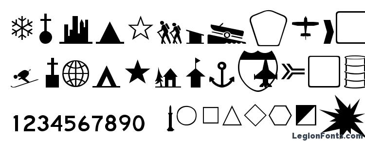 glyphs Banch Thin font, сharacters Banch Thin font, symbols Banch Thin font, character map Banch Thin font, preview Banch Thin font, abc Banch Thin font, Banch Thin font