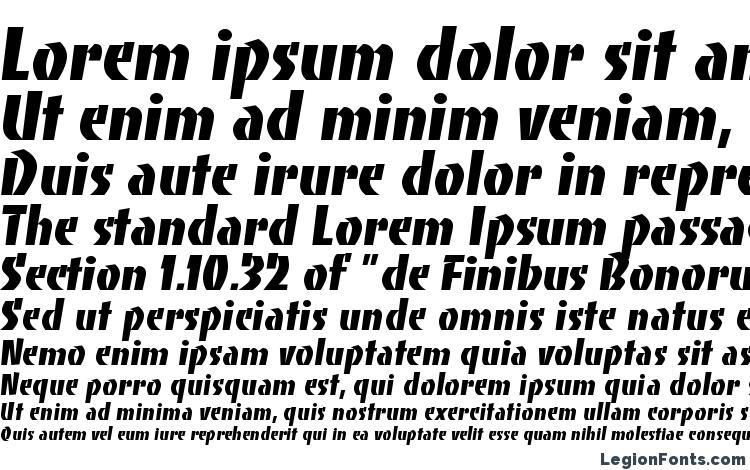 specimens Bancoheavyc font, sample Bancoheavyc font, an example of writing Bancoheavyc font, review Bancoheavyc font, preview Bancoheavyc font, Bancoheavyc font