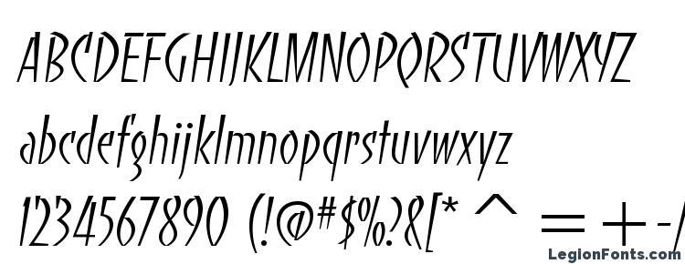 glyphs BancoLightTT font, сharacters BancoLightTT font, symbols BancoLightTT font, character map BancoLightTT font, preview BancoLightTT font, abc BancoLightTT font, BancoLightTT font