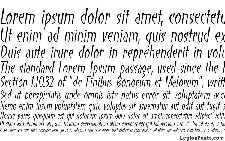 specimens BancoLightTT font, sample BancoLightTT font, an example of writing BancoLightTT font, review BancoLightTT font, preview BancoLightTT font, BancoLightTT font