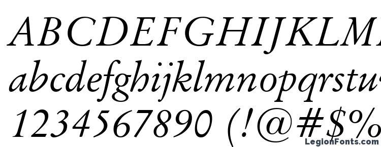 glyphs Baramond italic font, сharacters Baramond italic font, symbols Baramond italic font, character map Baramond italic font, preview Baramond italic font, abc Baramond italic font, Baramond italic font