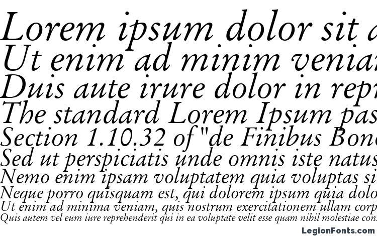 specimens Baramond italic font, sample Baramond italic font, an example of writing Baramond italic font, review Baramond italic font, preview Baramond italic font, Baramond italic font