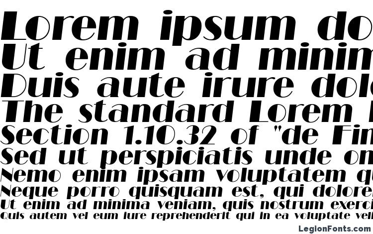 specimens Barbe Display SSi Italic font, sample Barbe Display SSi Italic font, an example of writing Barbe Display SSi Italic font, review Barbe Display SSi Italic font, preview Barbe Display SSi Italic font, Barbe Display SSi Italic font