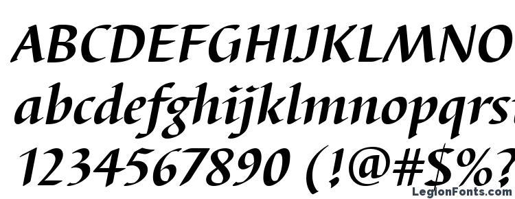 glyphs BarbedorT Bold Italic font, сharacters BarbedorT Bold Italic font, symbols BarbedorT Bold Italic font, character map BarbedorT Bold Italic font, preview BarbedorT Bold Italic font, abc BarbedorT Bold Italic font, BarbedorT Bold Italic font