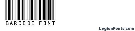 Шрифт barcode font, Шрифты для штрих-кода