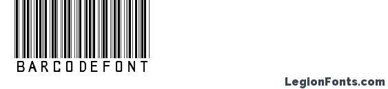 Шрифт Barcodefont, Шрифты для штрих-кода