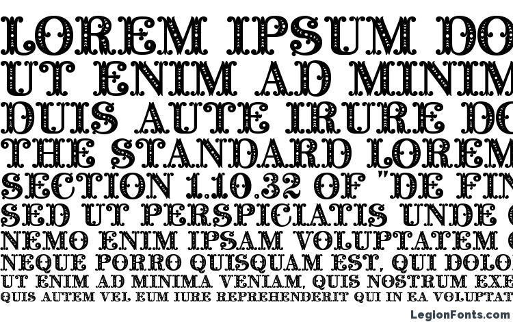 specimens Barocco Initial font, sample Barocco Initial font, an example of writing Barocco Initial font, review Barocco Initial font, preview Barocco Initial font, Barocco Initial font