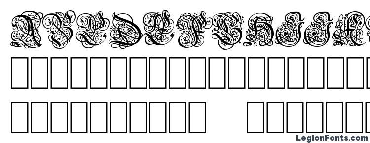 glyphs Barock font, сharacters Barock font, symbols Barock font, character map Barock font, preview Barock font, abc Barock font, Barock font