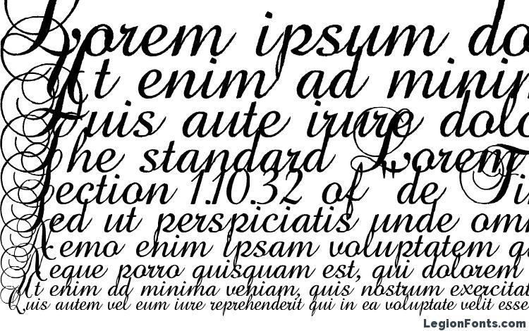 specimens Baroque Antique Script font, sample Baroque Antique Script font, an example of writing Baroque Antique Script font, review Baroque Antique Script font, preview Baroque Antique Script font, Baroque Antique Script font