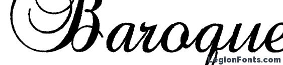 Baroque Antique Script font, free Baroque Antique Script font, preview Baroque Antique Script font