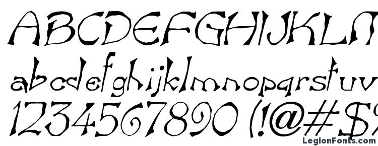 glyphs Bart Italic font, сharacters Bart Italic font, symbols Bart Italic font, character map Bart Italic font, preview Bart Italic font, abc Bart Italic font, Bart Italic font