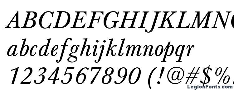 глифы шрифта Bartholomew Normal Italic, символы шрифта Bartholomew Normal Italic, символьная карта шрифта Bartholomew Normal Italic, предварительный просмотр шрифта Bartholomew Normal Italic, алфавит шрифта Bartholomew Normal Italic, шрифт Bartholomew Normal Italic