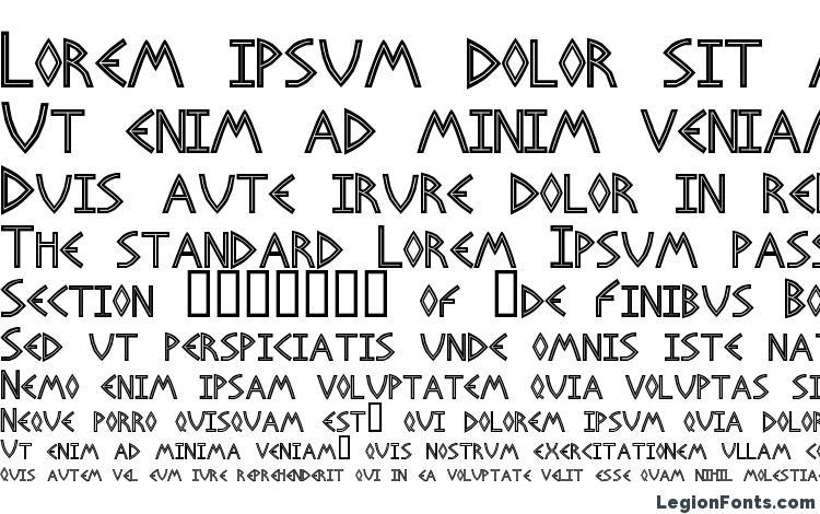 образцы шрифта Basileus, образец шрифта Basileus, пример написания шрифта Basileus, просмотр шрифта Basileus, предосмотр шрифта Basileus, шрифт Basileus