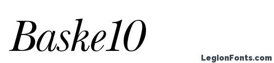 Baske10 Font