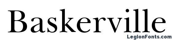 Baskerville BT Font
