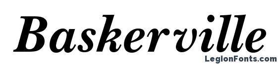 Шрифт Baskerville Handcut BOLDITALIC
