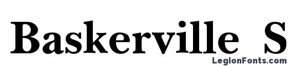 Baskerville SSi Semi Bold Font