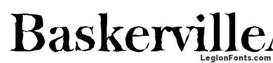 BaskervilleAntique Bold Font
