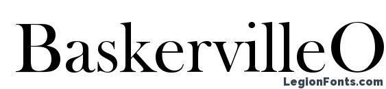 BaskervilleOldFacDEE Font