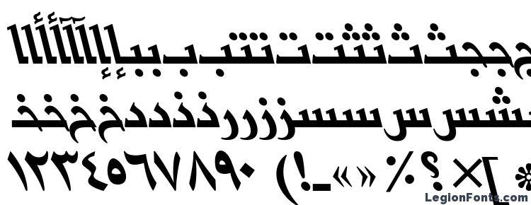 glyphs BasraArabicTT Italic font, сharacters BasraArabicTT Italic font, symbols BasraArabicTT Italic font, character map BasraArabicTT Italic font, preview BasraArabicTT Italic font, abc BasraArabicTT Italic font, BasraArabicTT Italic font