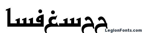 BasraTT font, free BasraTT font, preview BasraTT font