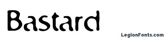 Шрифт Bastard