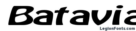 Batavia Regular ttext Font