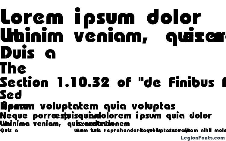 specimens Bauhaus Heavy Bold font, sample Bauhaus Heavy Bold font, an example of writing Bauhaus Heavy Bold font, review Bauhaus Heavy Bold font, preview Bauhaus Heavy Bold font, Bauhaus Heavy Bold font