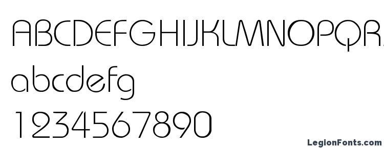 глифы шрифта Bauhaus Light Light, символы шрифта Bauhaus Light Light, символьная карта шрифта Bauhaus Light Light, предварительный просмотр шрифта Bauhaus Light Light, алфавит шрифта Bauhaus Light Light, шрифт Bauhaus Light Light