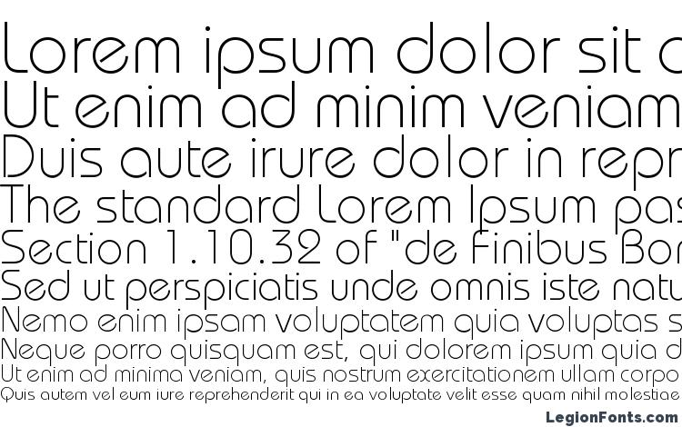 specimens Bauhausc light font, sample Bauhausc light font, an example of writing Bauhausc light font, review Bauhausc light font, preview Bauhausc light font, Bauhausc light font