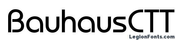 BauhausCTT Font