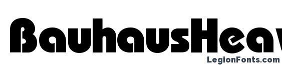 BauhausHeavyC Font