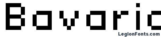 Bavaria extended Font