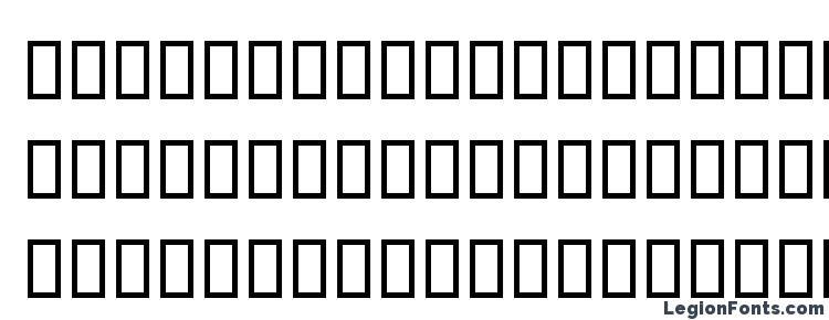 глифы шрифта Bd alm, символы шрифта Bd alm, символьная карта шрифта Bd alm, предварительный просмотр шрифта Bd alm, алфавит шрифта Bd alm, шрифт Bd alm