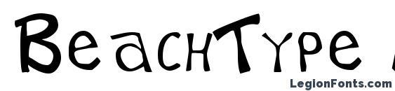 BeachType Medium Font