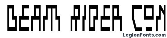Шрифт Beam Rider Condensed
