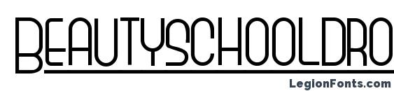 шрифт Beautyschooldropout, бесплатный шрифт Beautyschooldropout, предварительный просмотр шрифта Beautyschooldropout