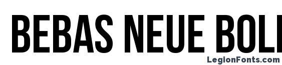 Bebas Neue Bold Font Free Download
