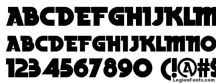 глифы шрифта Becker Black NF, символы шрифта Becker Black NF, символьная карта шрифта Becker Black NF, предварительный просмотр шрифта Becker Black NF, алфавит шрифта Becker Black NF, шрифт Becker Black NF
