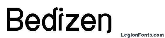 Шрифт Bedizen