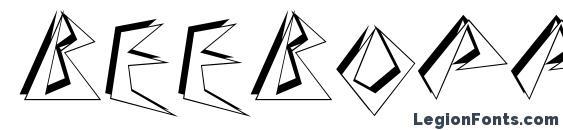 BeeBopp Font, 3D Fonts