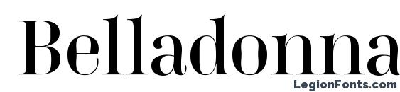 Belladonna Normal Font