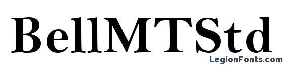 шрифт BellMTStd Bold, бесплатный шрифт BellMTStd Bold, предварительный просмотр шрифта BellMTStd Bold