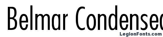 Belmar CondensedLight Normal Font