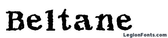 Шрифт Beltane