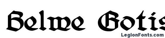 Шрифт Belwe Gotisch