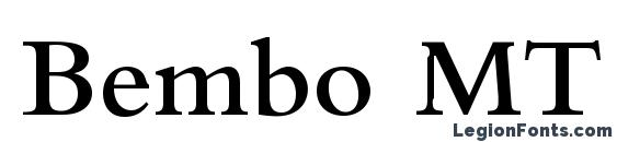 Шрифт Bembo MT SemiBold